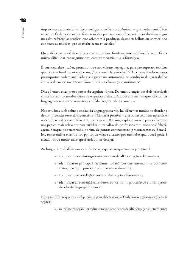 alfabetizacao e letramento pdf