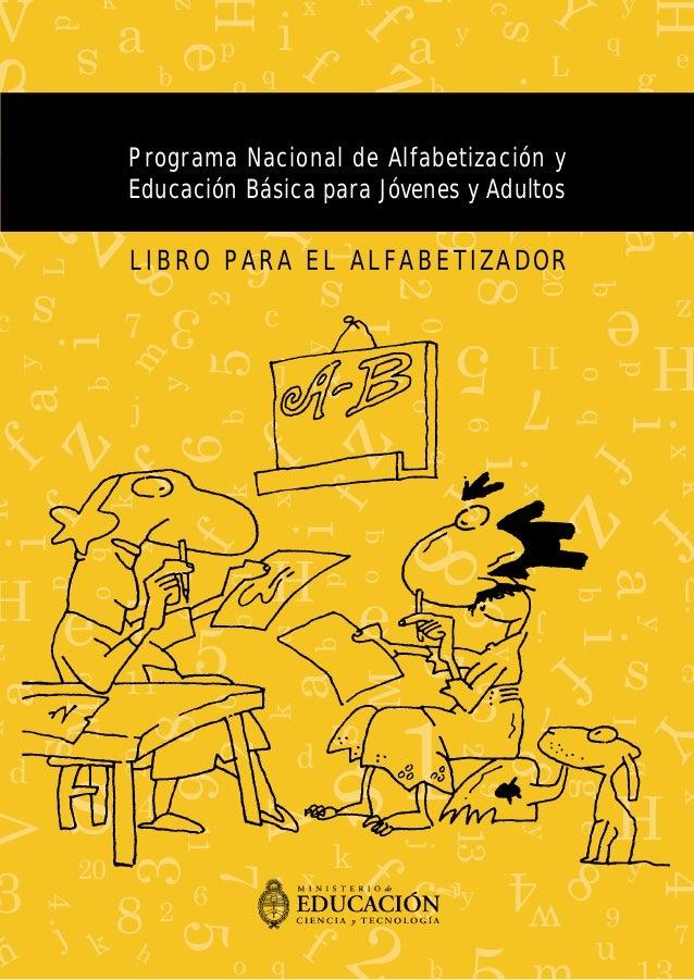 Alfabetizacion Magnifico Programa Para Aprender A Leer Y Escribir