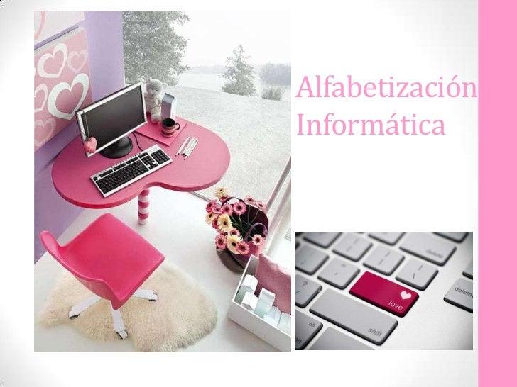 AlfabetizaciónInformática