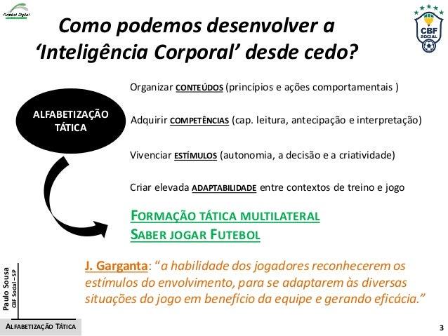 Como podemos desenvolver a 'Inteligência Corporal' desde cedo? Adquirir COMPETÊNCIAS (cap. leitura, antecipação e interpre...