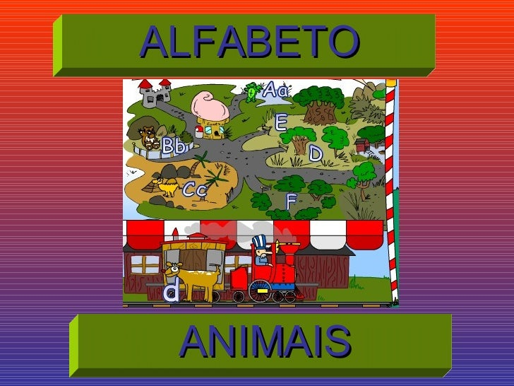 ALFABETO ANIMAIS