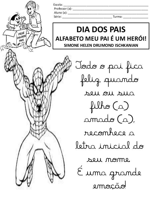 Alfabeto Homem Aranha 2
