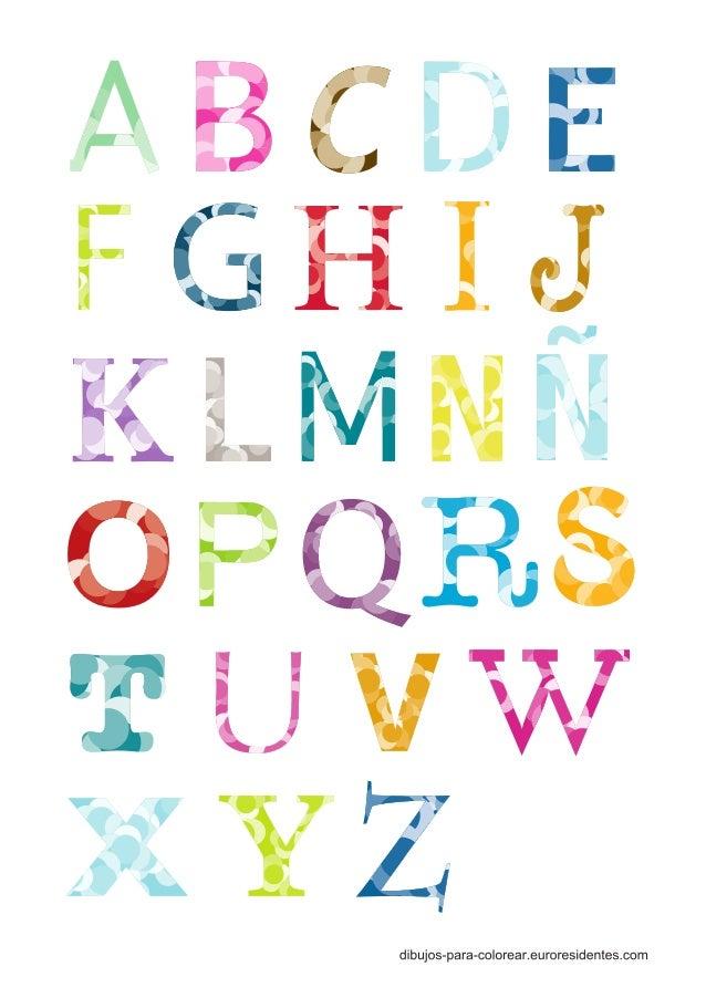 Alfabeto Imprimir