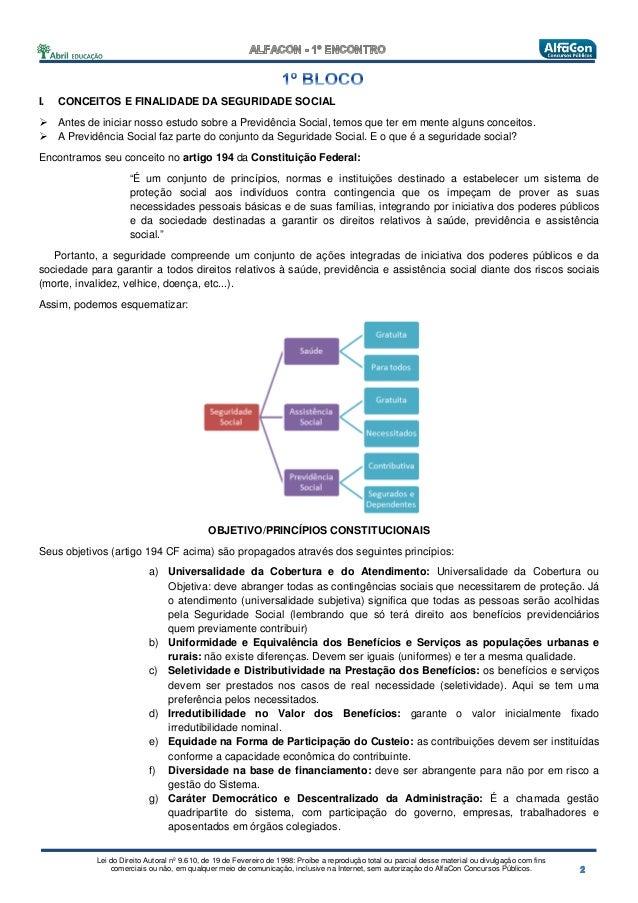 Alfacon tecnico do_inss_fcc_direito_previdenciario_lilian_novakoski_1o_enc Slide 3