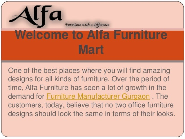 Welcome to Alfa Furniture Mart One of the best places where you will find amazing designs for all kinds of furniture. Over...