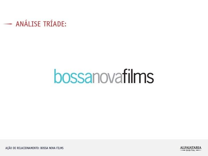 Alfaiataria Digital case de comunicação BossaNovaFilms