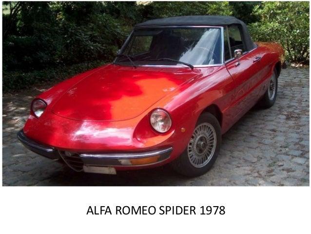 alfa romeo spider modelle. Black Bedroom Furniture Sets. Home Design Ideas