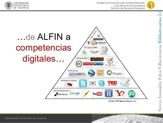 Unidad de Formación para la Administración y los Servicios Universitarios Servicio de Recursos Humanos …de ALFIN a compete...