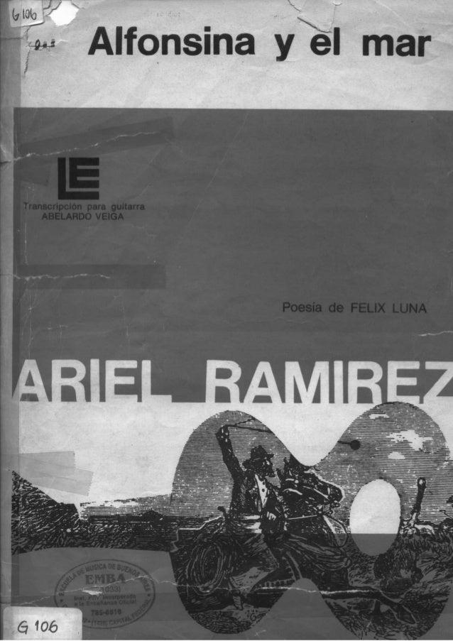 Transcripción para guitarra ABELARDO VElGA  Poesía de FELIX LUNA