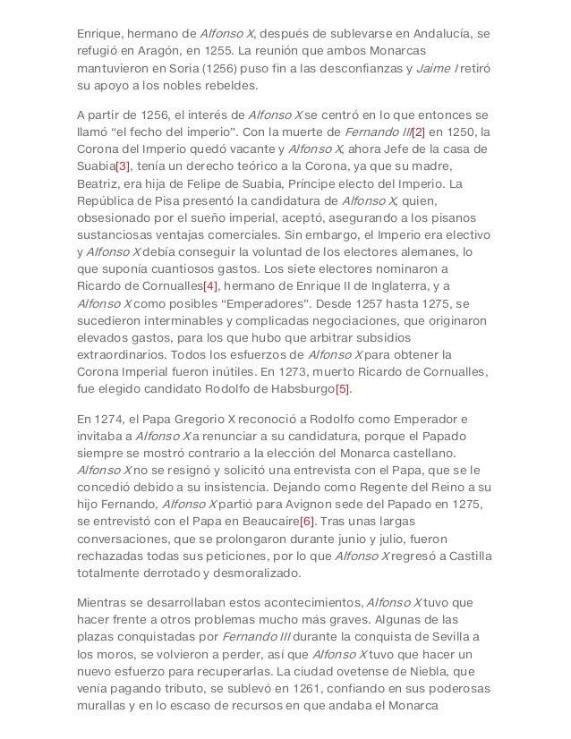 Enrique, hermano de Alfonso X, después de sublevarse en Andalucía, se refugió en Aragón, en 1255. La reunión que ambos Mon...
