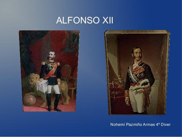ALFONSO XII Nohemí Pazmiño Armas 4º Diver