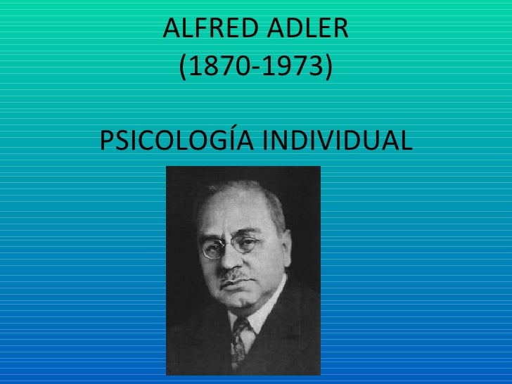Alfred Adler Personality Theories