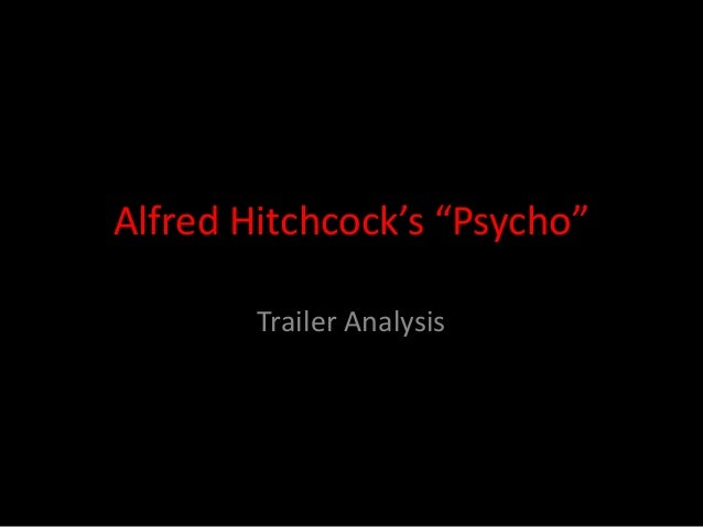 an analysis of the knife by alfred hitchcock A 'psycho' analysis: alfred hitchcock's spookiest movie brought with it the end of hollywood innocence  there are a few frames where you can see the knife begin to cut her) but it's .