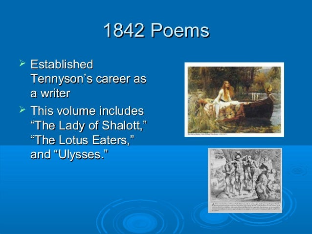 analysis of the lotus eaters by tennyson The lotus eaters / a novel that follows an american female combat photographer in the vietnam war as she captures the wrenching chaos and finds herself torn between the love of two men.