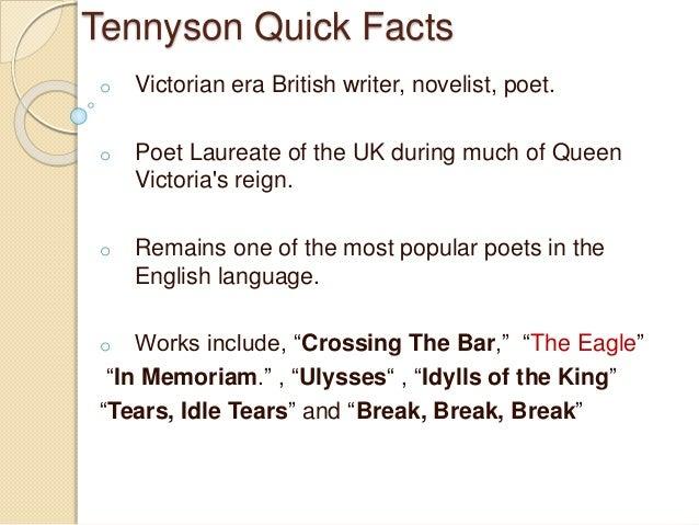 alfred lord tennyson tennyson