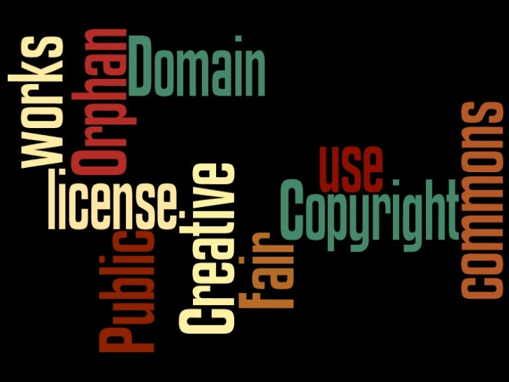 Conclusion      When you use others' creative expressions, set time aside to understand copyrights and licenses rules that...