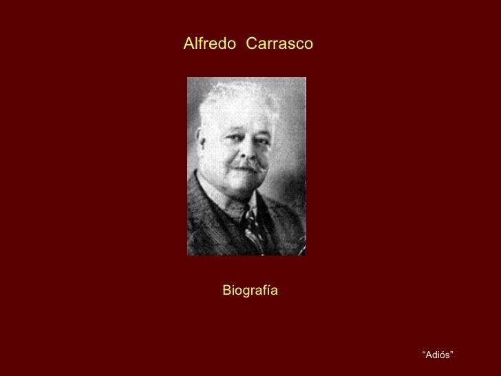 """Alfredo  Carrasco Biografía """" Adiós"""" Pianista Rosy Valdez"""