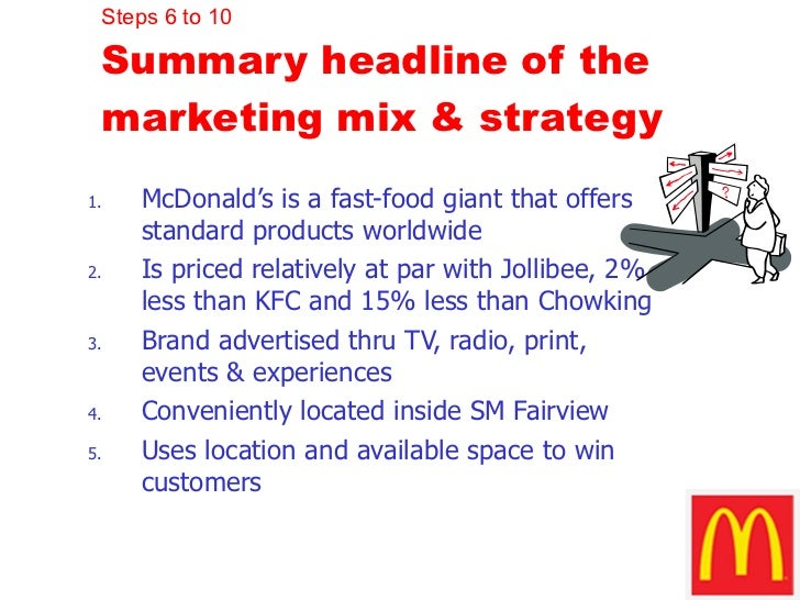 marketing strategies of chowking Promotional practices of selected food chain stores strategies into a marketing  program chowking , the countrys leading view michael keil's profile on trade.