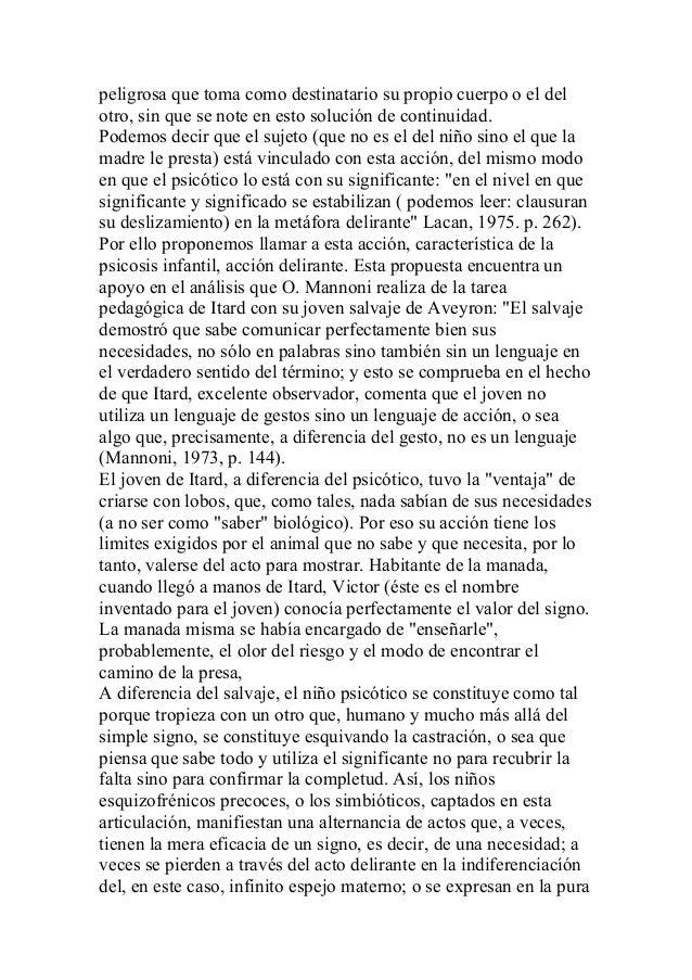 Alfredo jerusalinsky   psicoanálisis del autismo