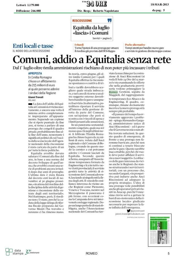 Lettori: 1.179.000                                     18-MAR-2013Diffusione: 266.088   Dir. Resp.: Roberto Napoletano   d...