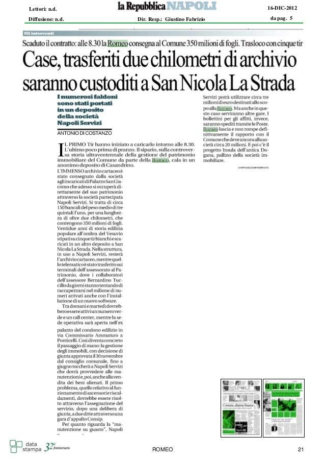 Lettori: n.d.                                      16-DIC-2012Diffusione: n.d.   Dir. Resp.: Giustino Fabrizio    da pag. ...