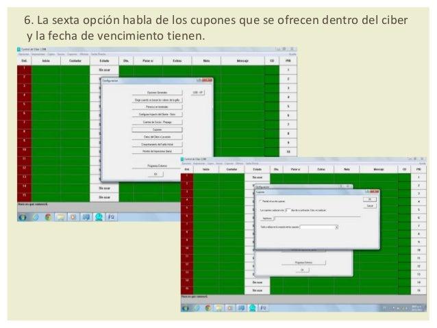 9. Novena opción. Monitor de impresiones beta: esta opción es el administradorde las impresiones es que ve cuantas impresi...