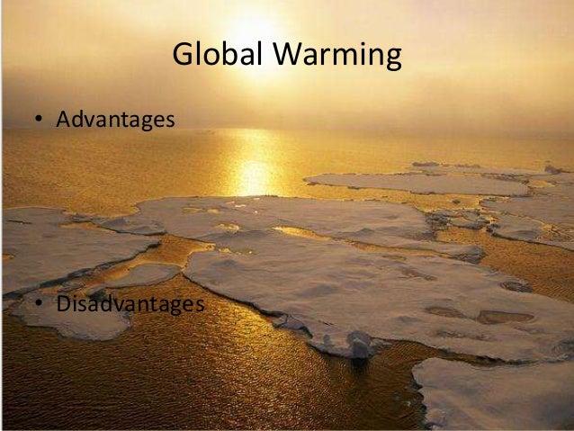 disadvantages of global warming