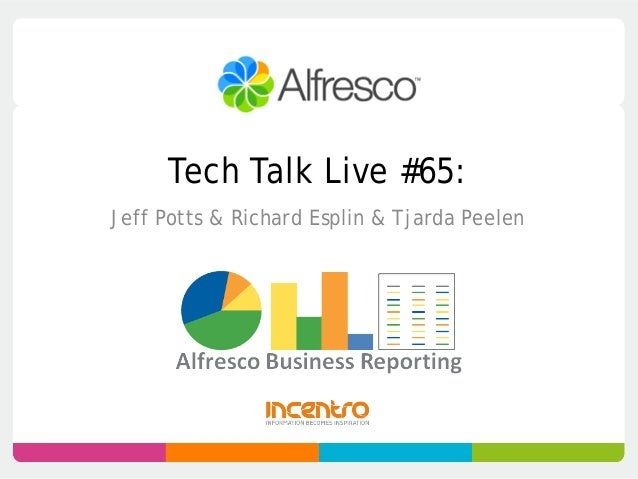 Tech Talk Live #65:Jeff Potts & Richard Esplin & Tjarda Peelen