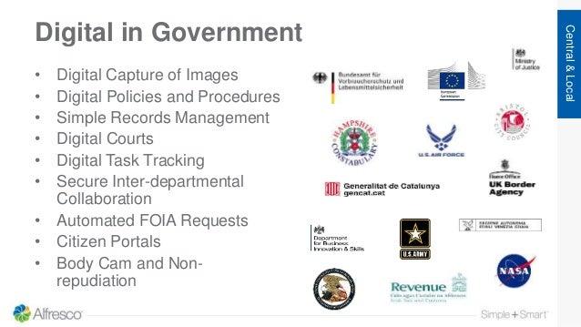Digital in Government • Digital Capture of Images • Digital Policies and Procedures • Simple Records Management • Digital ...
