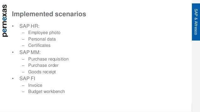 Anwendungsbeispiele verschiedener SAP-Alfresco Umgebungen - Volker Bl…