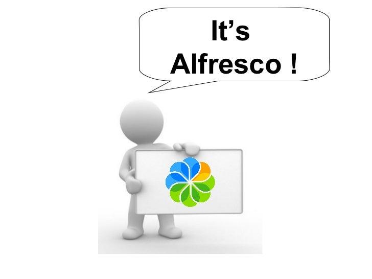 Alfresco in few points - Node Tutorial Slide 2