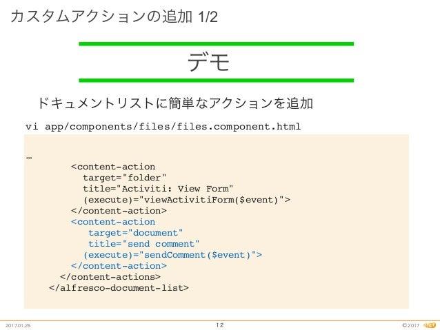 alfresco-js-api ng2-alfresco- core ng2-alfresco- login ng2-alfresco- search ng2-alfresco- documentList UI
