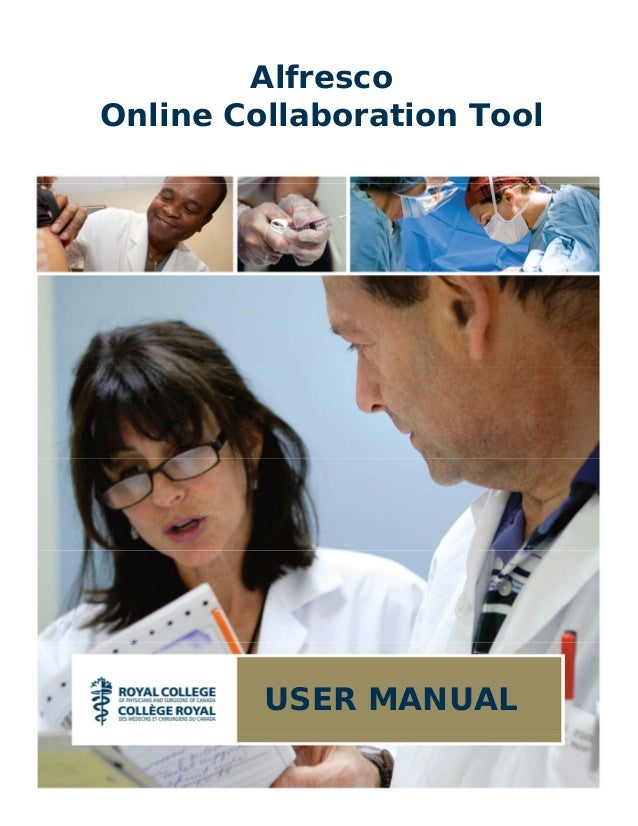 AlfrescoOnline Collaboration Tool         USER MANUAL