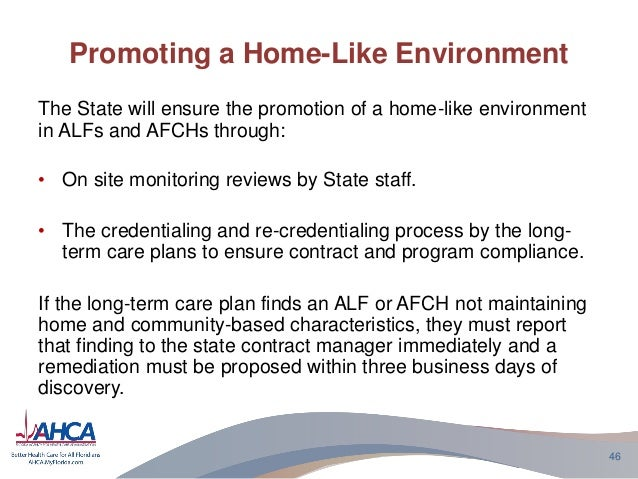 long term care alf The need for long term care means that you or your loved one now have advanced care needs that are more clinically complicated our clinical staff, including nurse practitioners, oversee all care and aim to keep residents out of the hospital whenever possible.