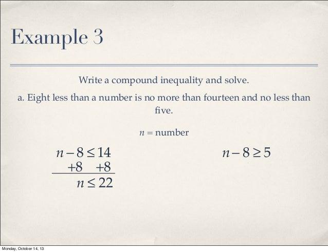Algebra 1B Section 5-4