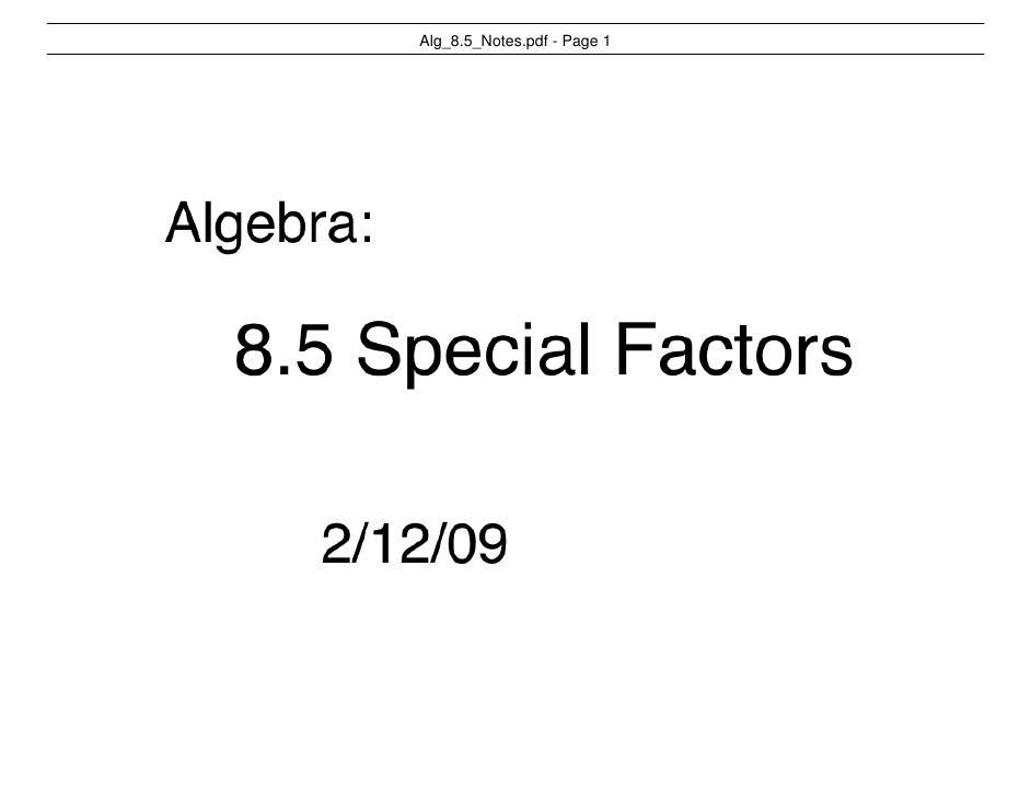 Alg_8.5_Notes.pdf - Page 1