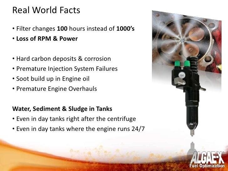 Algae X Fuel Optimization Amp Maintenance