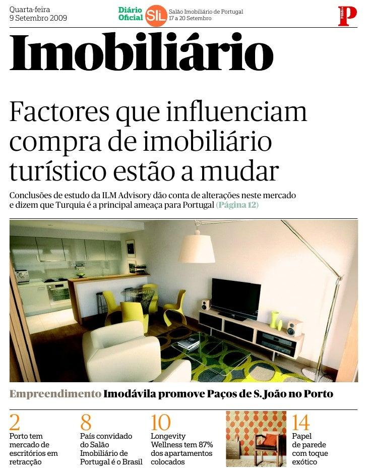 Quarta-feira                 Diário         Salão Imobiliário de Portugal 9 Setembro 2009              Oficial         17 a...