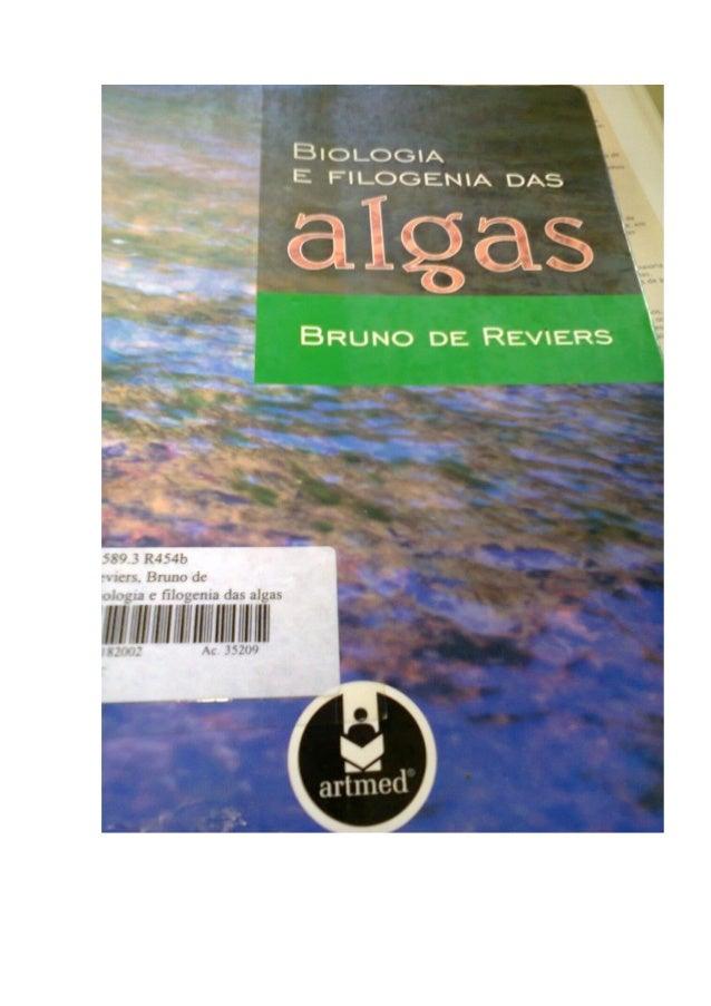 filogenia das algas