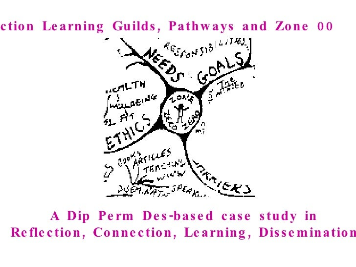 Action Learning Guilds, Pathways and Zone 00   A Dip Perm Des-based case study in  Reflection, Connection, Learning, Disse...