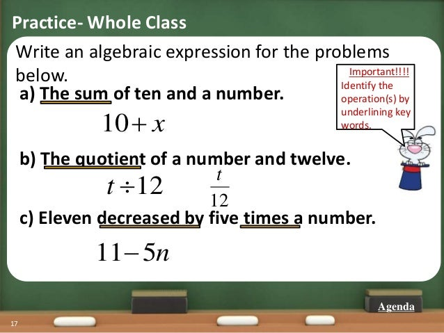 write an expression to match the words three times the sum of 8 and 4