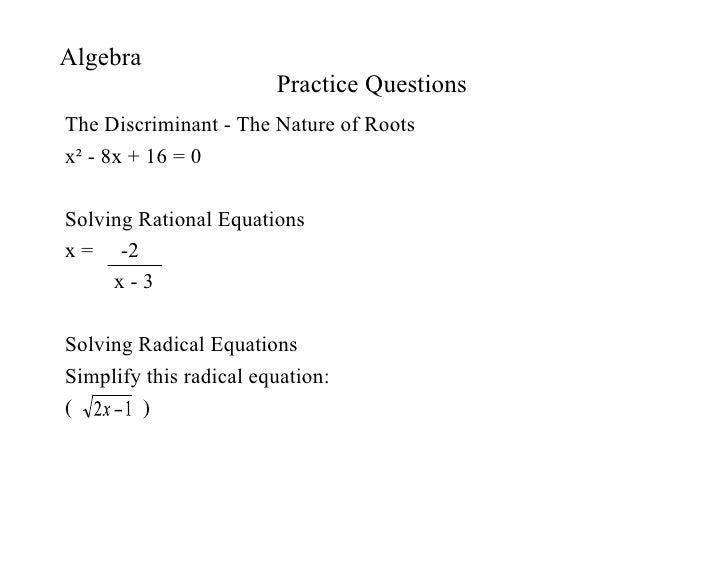 Algebra Electronic Presentation Expert Voices F I N A L