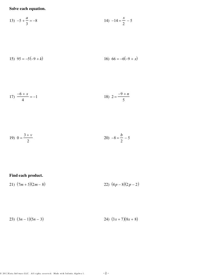 cool algebra assignment solve each equation gallery worksheet  nice algebra assignments pictures inspiration worksheet