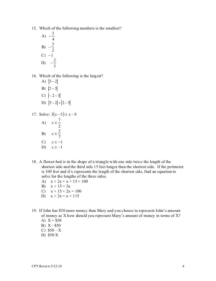 Ungewöhnlich Algebra1 Galerie - Mathematik & Geometrie Arbeitsblatt ...