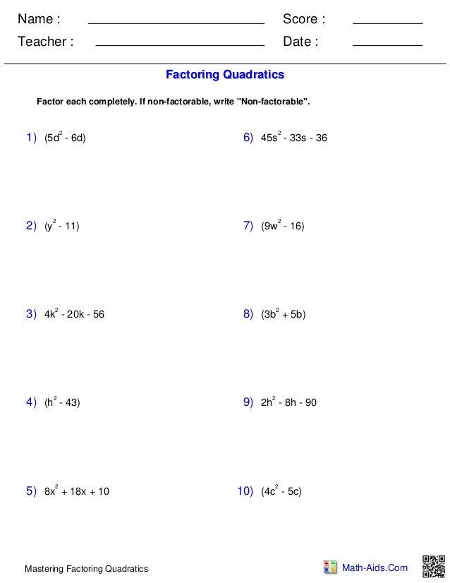 algebra1 polynomials quadraticfactoring