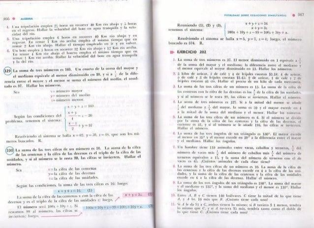 Algebra de baldor