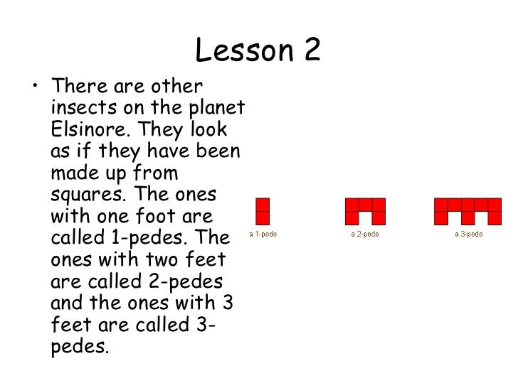 Algebra L2 lesson 1 to 5