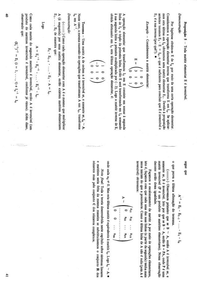 Algebra linear e aplicacoes 6ed callioli, domingues, costa
