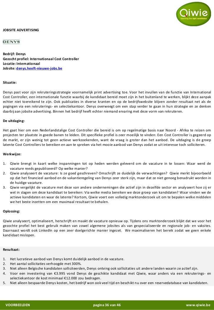 motivatiebrief controller Algemene Presentatie