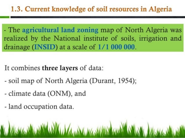 Soil resources and sustainable soil management in algeria for Usda rural development louisiana